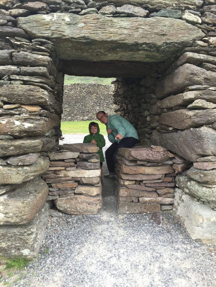 We had a great time exploring the Ring of Kerry with kids - Torc waterfall, Kissane sheep farm, Moll's Gap and Staigue stone fort. Ireland family travel <3