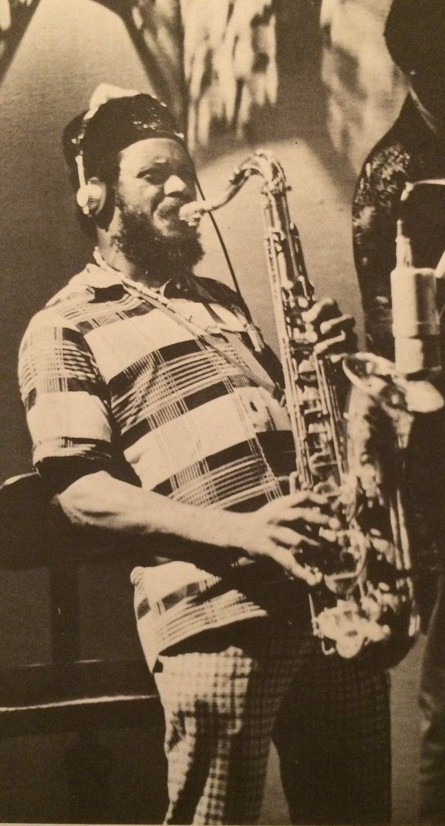 "Pharoah Sanders Ornette Coleman once described him as ""probably the best tenor…"
