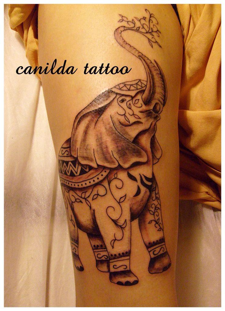 Fil deseni ve dövmeleri canilda tattoo studio kadıköy moda