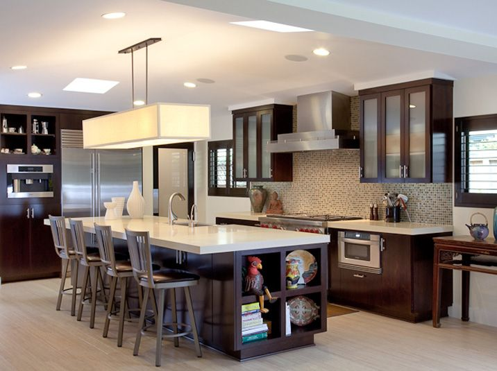 Contemporary Kitchen Cabinet Doors contemporary kitchen glass cabinets