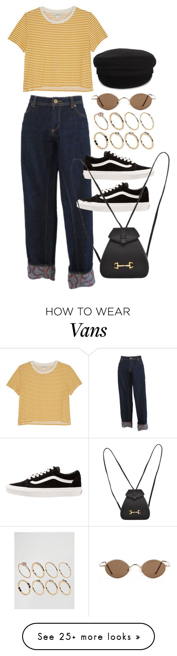 """""""Untitled #11390"""" by nikka-phillips on Polyvore featuring Vivienne Westwood, Monki, Vans, Gucci, Étoile Isabel Marant and ASOS"""