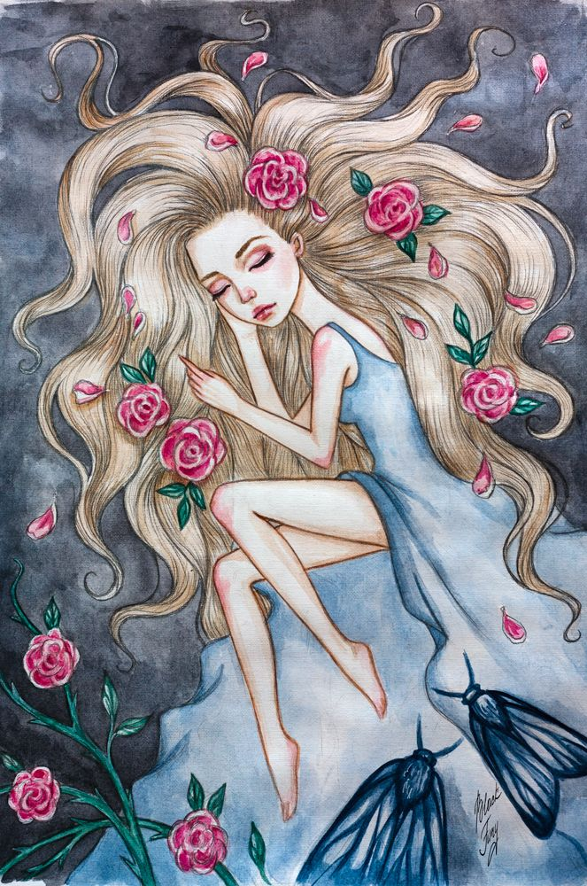 Sleeping Beauty by BlackFurya.deviantart.com on @DeviantArt