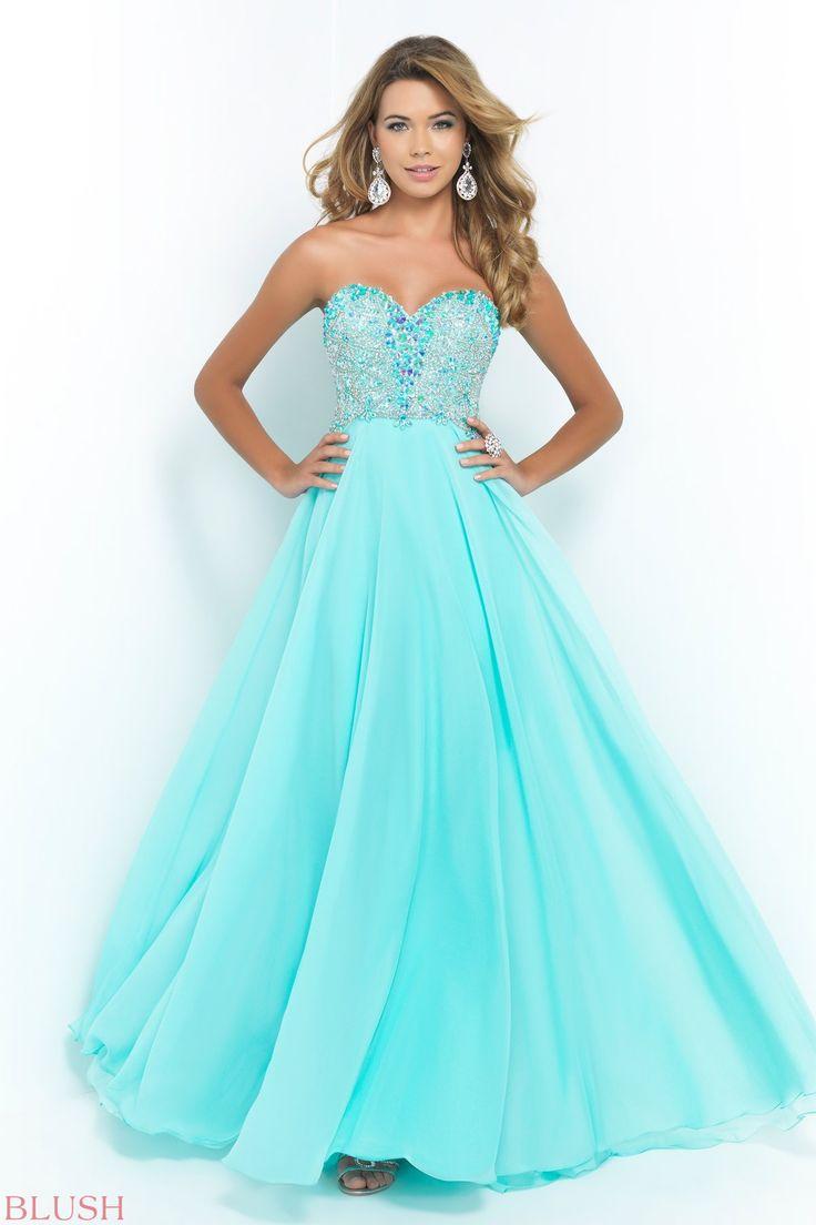 111 best PROM: SPRING 2015 images on Pinterest   Blush prom dress ...