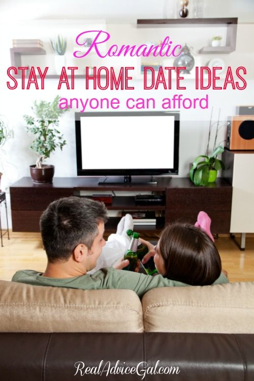 Have a romantic date at home. Check out this list of stay at home dates anyone can afford.