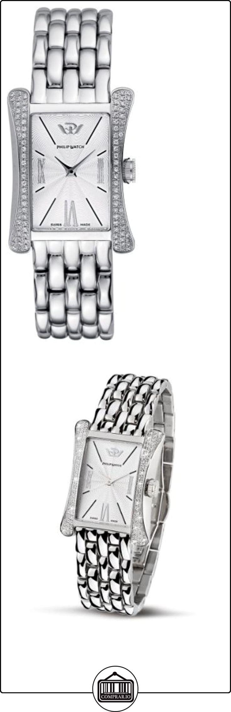 Philip Watch R8253185543 - Reloj de mujer de cuarzo, correa de acero inoxidable color plata  ✿ Relojes para mujer - (Lujo) ✿