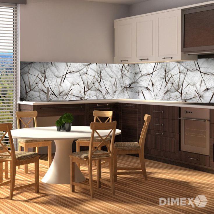 Púpavy ako kuchynská zástena | DIMEX