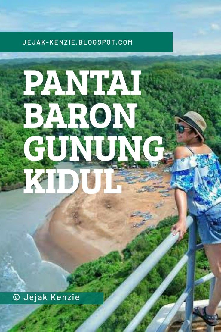 Pantai Baron Gunung Kidul Jogja Gambar Harga Tiket Masuk Lokasi Rute Di 2020 Pantai Baron Pemandangan