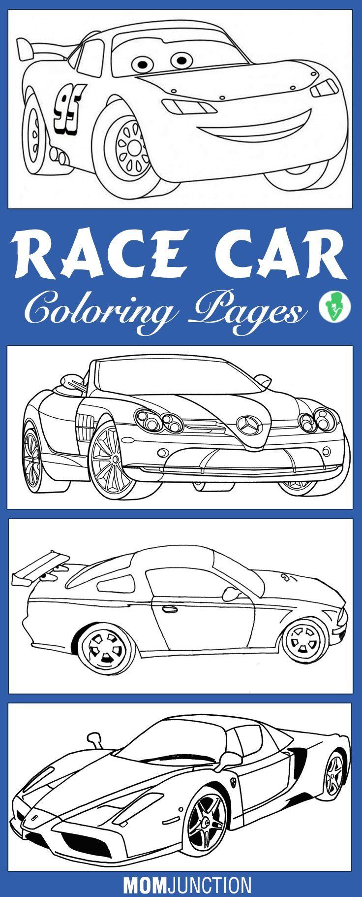 kleurplaat raceautos kleurplaten dieren