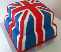 Union Jack Cake / sam picture on VisualizeUs