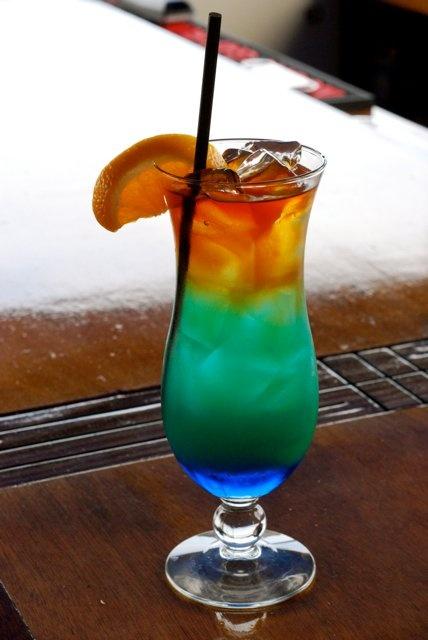 Signature Island drink at Marina Cafe & Pub!    http://goingout.com/ri/venues/232/Marina-Cafe-Pub