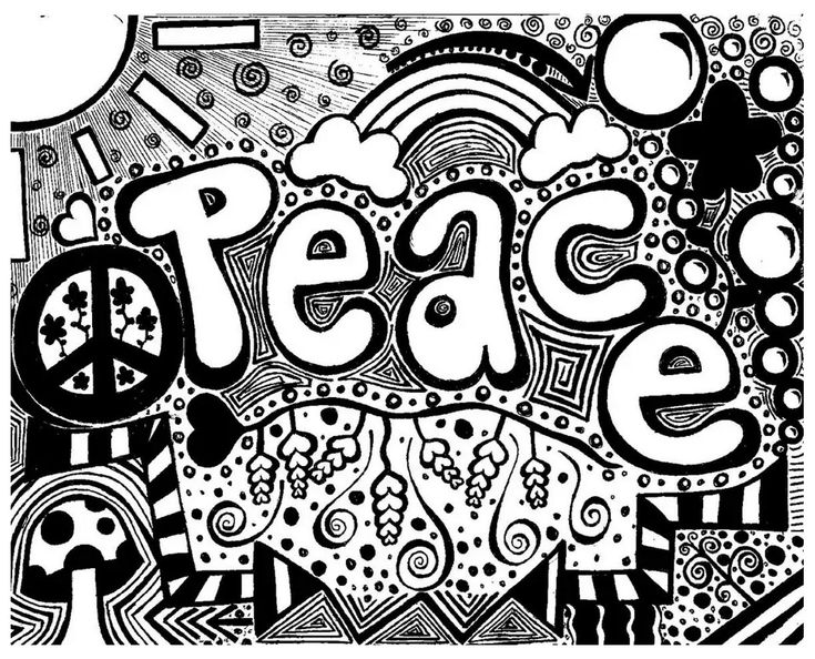 Free coloring page coloring-doodle-art-doodling-6. Peaceful Doodle Art !