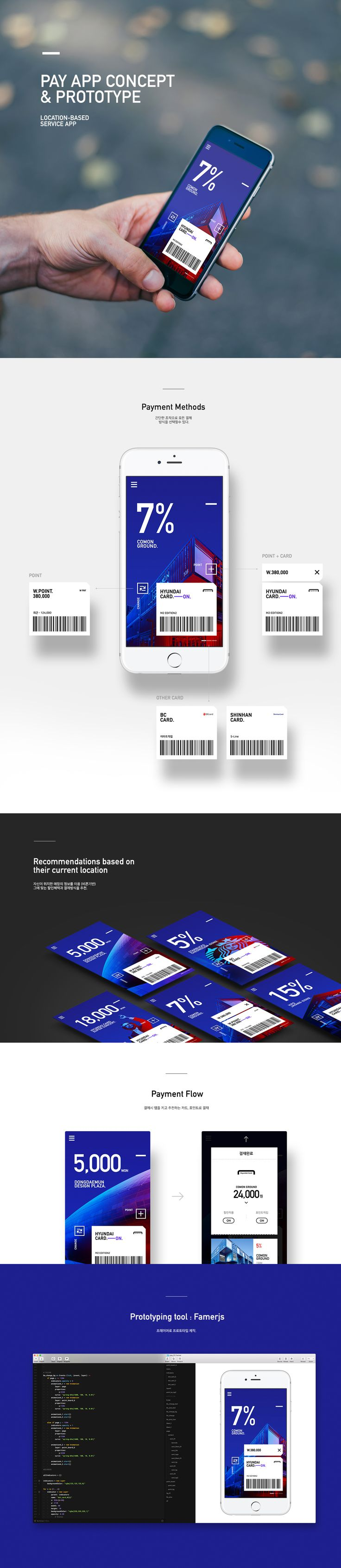 Pay App Concept & Prototype.Location-based service App