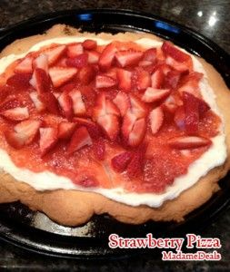 Strawberry Recipes for Kids: Strawberry Pizza