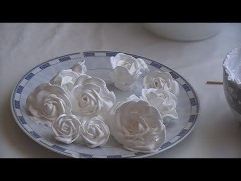 Белково заварной крем рецепт . Торт крем украшение . Тренировочный видео...
