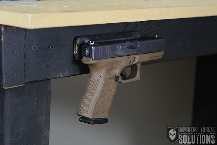Diy Inexpensive Gun Magnet Mount Conceal Your Firearm