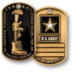 Fallen Heroes - Army https://store.nwtmint.com/product_details/2133/Fallen_Heroes_Army/