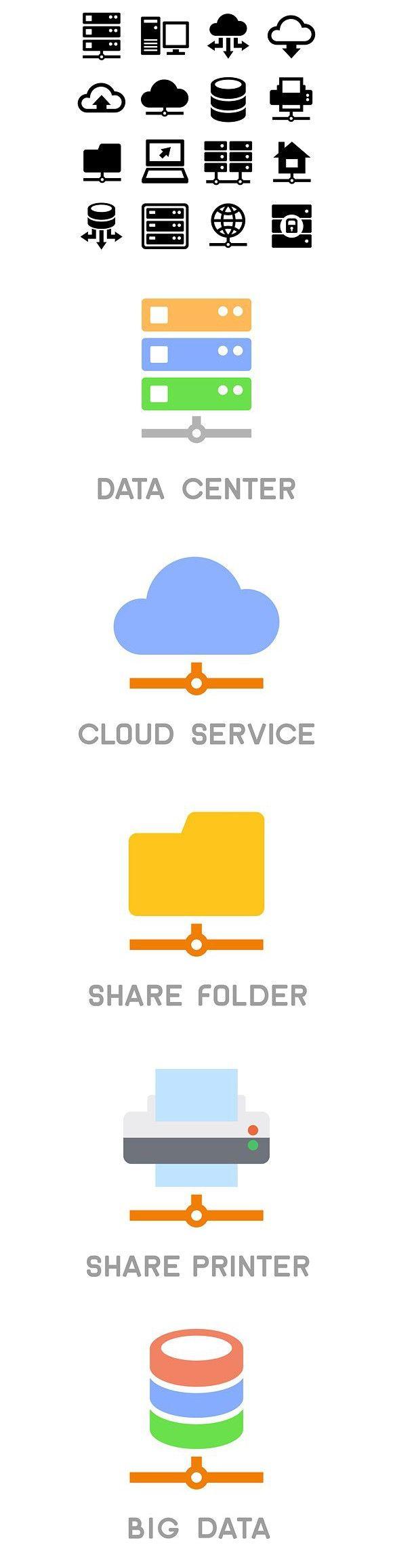Wireless icon line iconset iconsmind - Big Data Center And Server Icons Technology Icons 6 00