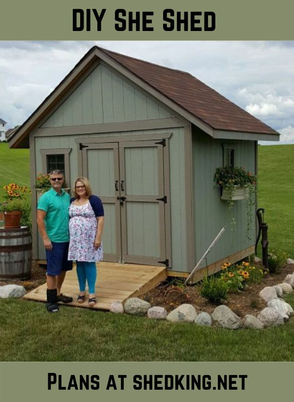 Backyard Storage Shed 10x10 Gable Shed Plans In 2020 Backyard Storage Sheds Backyard Storage Backyard Sheds