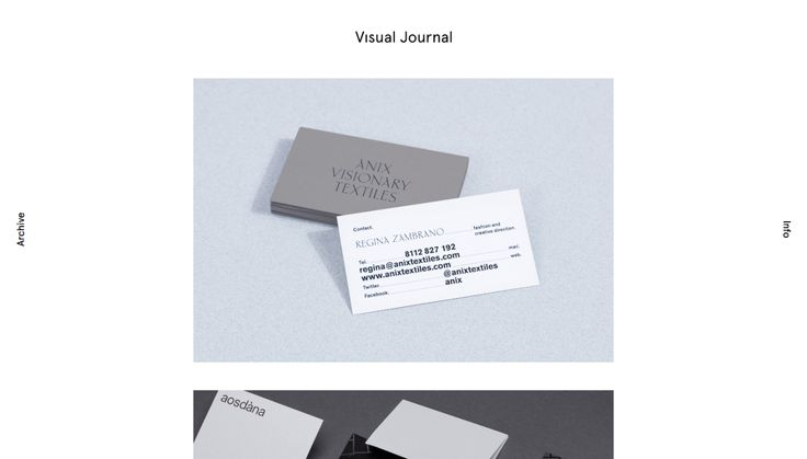 Visual Journal  Branding Editorial and Graphic Design