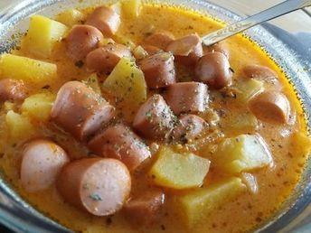Kartoffelgulasch mit Wiener Würstchen, ein gutes Rezept aus der Kategorie Resteverwertung. Bewertungen: 178. Durchschnitt: Ø 4,5.