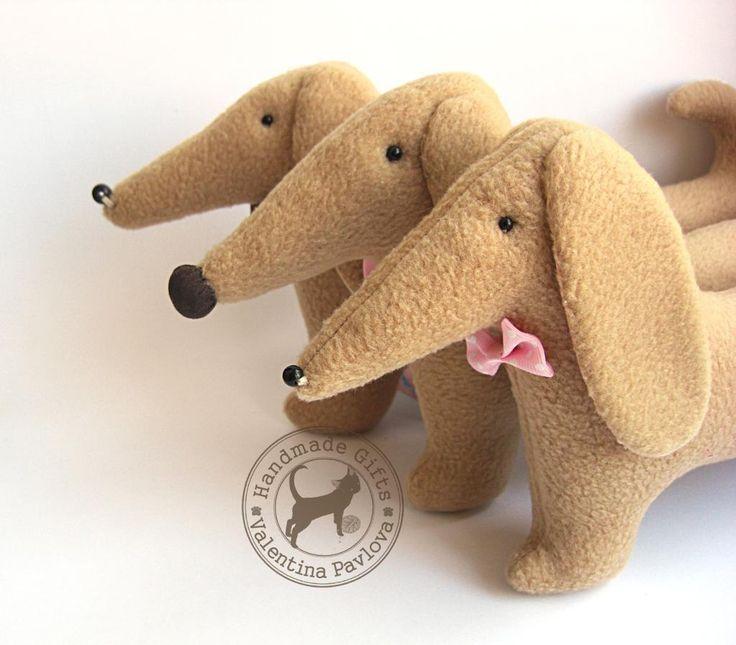 (9) Name: 'Sewing : PDF pattern toy dachshund Alex
