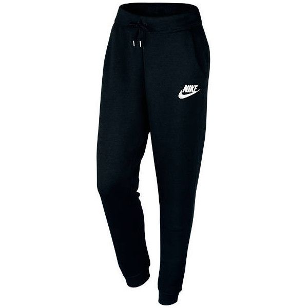 Nike Women's Rally Pants ($60) ❤ liked on Polyvore featuring activewear, activewear pants, pants, cropped sweatpants, blue sweat pants, boyfriend sweatpants, nike sportswear and nike sweatpants
