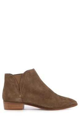 This pair of low cut ankle boots feature a suede upper, elasticated inserts, almond toe and low heel. All sizes are EU sizes. See size guide for conversions.Fabric:Sole: 100.0% Rubber.  Upper: 100.0% Leather.Wash care:Do Not CleanProduct code: 02394112 Price: £55.00