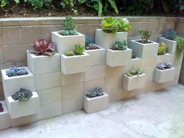 Deco Jardin Zen Exterieur Pas Cher Cinder Block Garden Decorative Cinder Blocks Cinder Block Bench