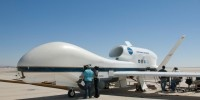 In September, NASA began the first test flights of a pair of Global Hawks in a five-year-mission to track hurricanes and tropical storms, called Hurricane and Severe Storm Sentinel. It's the first time aerial storm-tracking has been carried out by the drone, which NASA hopes will one day augment manned flights and allow researchers to measure changes in hurricane intensity for much longer periods.  But the drones just missed Sandy.
