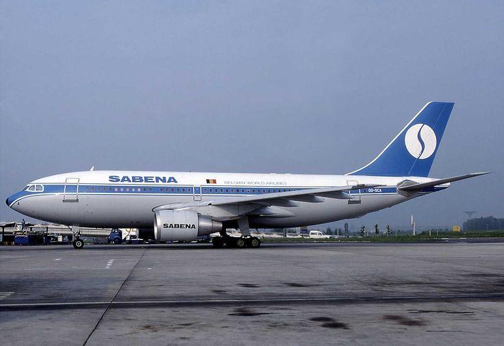 Sabena Airlines -Belgium Airbus A310-222 - Paris - Charles de Gaulle Airport