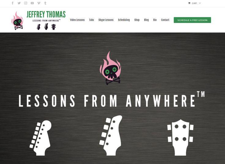 Set up your FREE Skype guitar, bass or ukulele lesson with Jeffrey Thomas today!