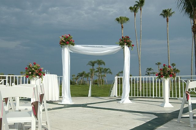 safety harbor resort and spa- This is where we had the wedding ceremony but this picture is not from our ceremony.