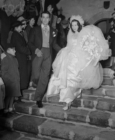 Gloria Vanderbilt & Pasquale DiCicco in 1941