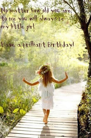 Happy Birthday to my amazing daughter. You are my joy and the light of my life!