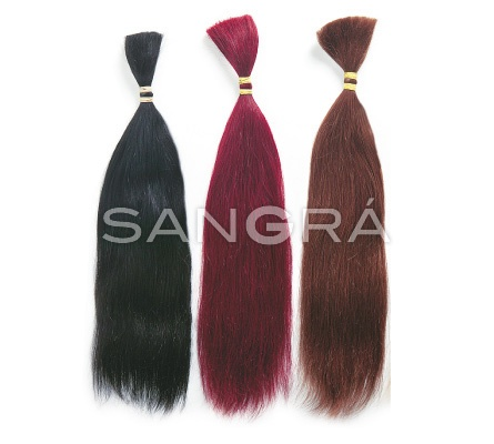 Extensions - CN | Cabello indio 100% natural a peso / Indian human hair in bulk  cm. 50-55. gr. 100