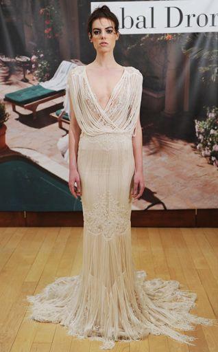 edgy wedding dress, bridal fashion week