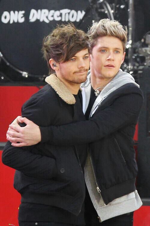 Zayn Malik And Niall Horan Hugging