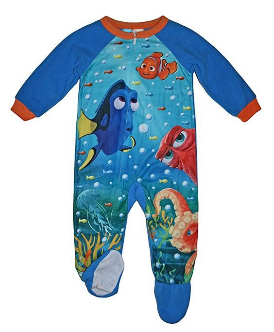 Disney Little Boys Finding Dory Nemo Blanket Sleeper (2T)