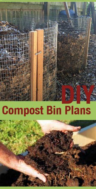diy compost bin plans diy composter plans gift for gardener sustainable