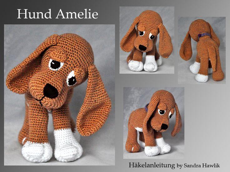 Häkelanleitung, DIY - Hund Amelie - Ebook, PDF