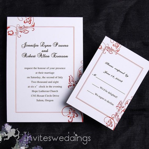 1000+ Images About Simple Wedding Invitations On Pinterest