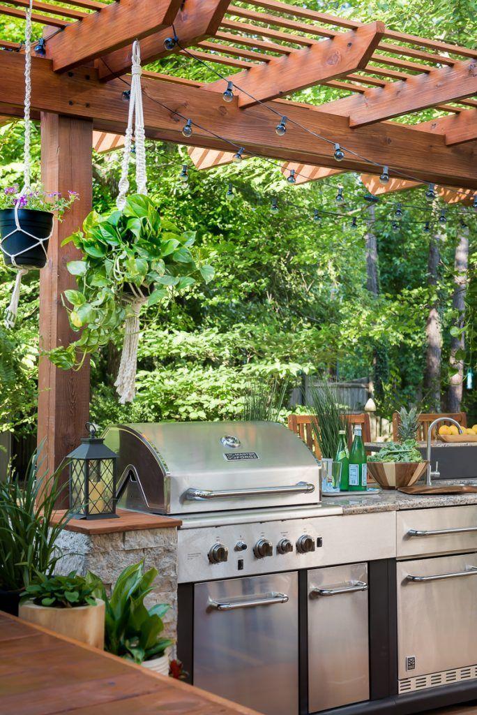 diy outdoor kitchen plans wood 45 best outdoor kitchen design ideas create perfect ambience