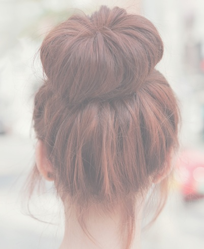 ::Creating the Perfect Bun is a skill. One that can be easily learned though. this bun has so much volume!::