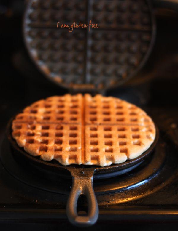 The best gluten free waffle recipe we've tried!