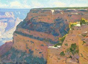 GRAND CANYON PLEIN AIR STUDY by Robert Goldman Oil on Canvas ~ 9 x 12