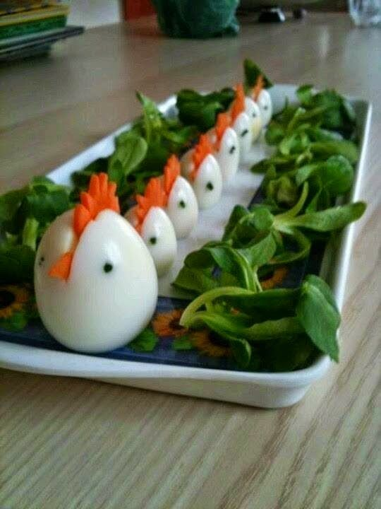 Hard boiled and deviled egg ideas ~