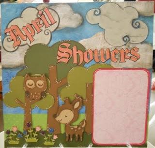 April showers - Layout