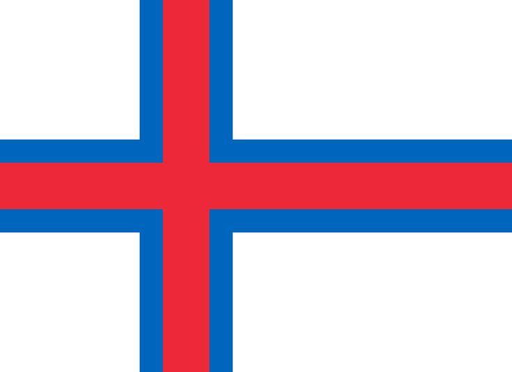 Bandeira das Ilhas Feroé