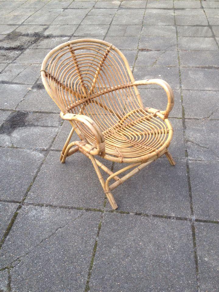Rotan stoel rohe  Noordwolde  Oogvoordesign Retro & Vintage Woonwinkel