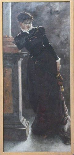 CELOS,  Oleo sobre Tela 193 x 89 cm Museo Nacional de Bellas Artes